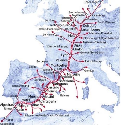 Corridor Méditerranéen