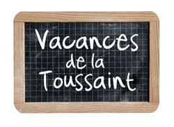 Vacances de la Toussaints